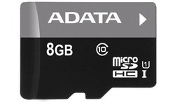 Adata Premier MicroSDHC UHS-I 8GB + Adapter