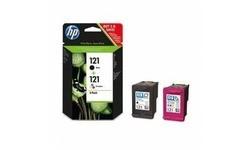 HP 121 Black + Color