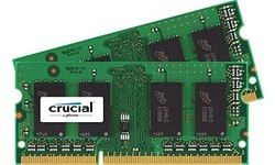 Crucial 16GB DDR3-1866 CL13 Sodimm kit