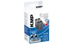 KMP E145D Black Twin Pack