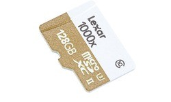 Lexar MicroSDXC UHS-II U3 1000x 128GB + Adapter