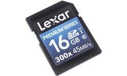 Lexar Premium SDHC UHS-I 300x 16GB