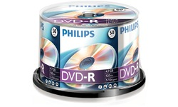 Philips DVD-R 16x 50pk Spindle