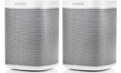 Sonos Play 1 White Duo Pack