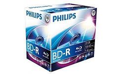 Philips BD-R 25GB 6x 10pk Jewel Case