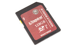 Kingston SDXC UHS-I U3 128GB