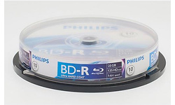 Philips BD-R 25GB 6x 10pk Spindle