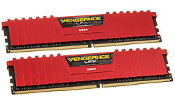 Corsair Vengeance LPX Red 8GB DDR4-2666 CL16 kit
