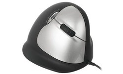 R-Go Tools Mouse Vertical Right Black/Grey