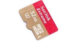 Sandisk Extreme+ MicroSDHC UHS-I U3 32GB + Adapter