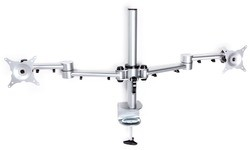 R-Go Tools R-Go Monitor Arm Basic Dual Silver