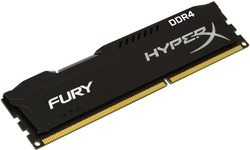 Kingston HyperX Fury Black 8GB DDR4-2400 CL15
