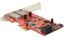 Delock 2-Port USB 3.0 LP PCI-e Card