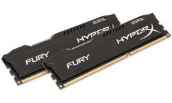 Kingston HyperX Fury Black 8GB DDR3-1866 CL11 kit