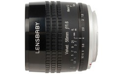 Lensbaby Velvet 56mm f/1.6 Black (Sony E-Mount)