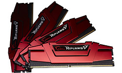 G.Skill Ripjaws V 32GB DDR4-3000 CL15 quad kit