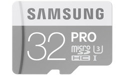 Samsung Pro MicroSDHC UHS-I 32GB + Adapter