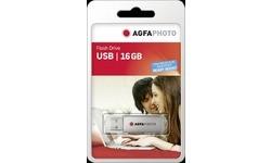 AgfaPhoto USB Flash Drive 16GB Silver