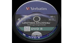 Verbatim DVD R 10pk Spindle