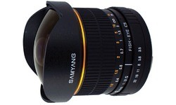 Samyang 8mm f/3.5 Fisheye MC Pentax CS-II