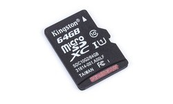 Kingston MicroSDXC UHS-I G2 64GB + Adapter