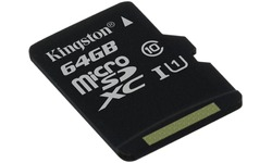 Kingston MicroSDXC UHS-I G2 64GB