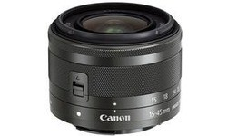 Canon EF-M 15-45mm f/3.5-6.3 IS STM Black