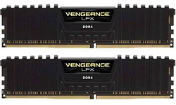 Corsair Vengeance LPX Black 32GB DDR4-3200 CL16-18-18-36 kit (Intel)