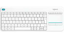 Logitech Wireless Touch K400 Plus White (US)