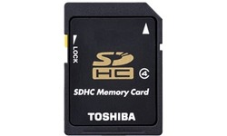 Toshiba High Speed M102 MicroSDHC Class 4 16GB + Adapter