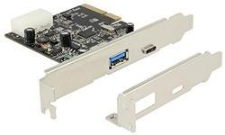 Delock 2-Port USB 3.1 (Type A + Type C)
