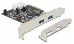 Delock 2-Port USB 3.1 (Type A)