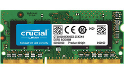 Crucial 8GB DDR3L-1866 CL13 Sodimm (Mac)