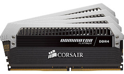 Corsair Dominator Platinum 32GB DDR4-3200 CL16 quad kit
