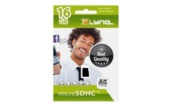 Xlyne MicroSDHC SDHC Class 4 16GB + Adapter