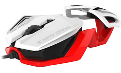 Mad Catz R.A.T. 1 Gaming White/Red