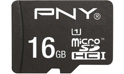 PNY High Performance MicroSDHC UHS-I 16GB + Adapter