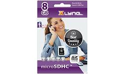 Xlyne MicroSDHC Class 4 8GB + Adapter