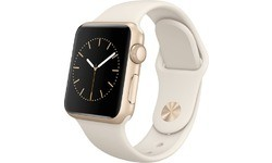 Apple Watch 38mm Gold Aluminium Case, Antique White