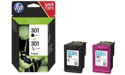 HP 301 Black + Color