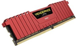 Corsair Vengeance LPX Red 16GB DDR4-3600 CL18 kit