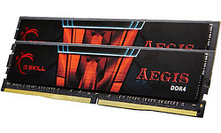 G.Skill Aegis 16GB DDR4-2400 CL15 kit