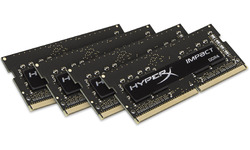 Kingston HyperX 16GB DDR4-2400 CL15 Sodimm quad kit