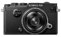 Olympus Pen-F 17mm kit Black