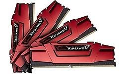 G.Skill Ripjaws V Red 32GB DDR4-3000 CL14 quad kit