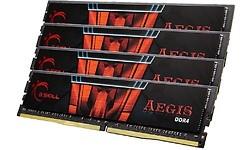 G.Skill Aegis 16GB DDR4-2400 CL16 quad kit