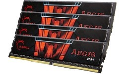 G.Skill Aegis 32GB DDR4-2400 CL15 quad kit