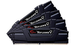 G.Skill Ripjaws V Black 64GB DDR4-3200 CL15 quad kit