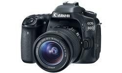 Canon Eos 80D 18-55 kit