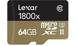 Lexar Professional MicroSDXC UHS-II U3 64GB + Adapter